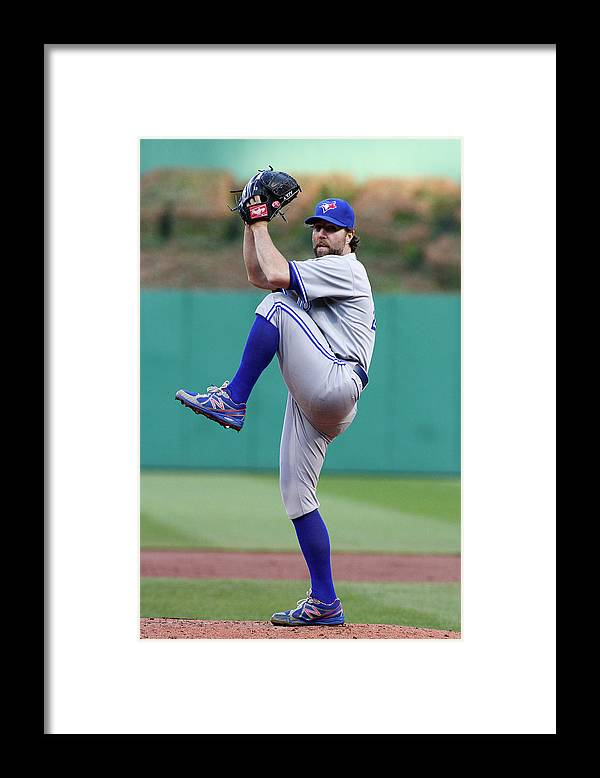 Professional Sport Framed Print featuring the photograph Toronto Blue Jays V Pittsburgh Pirates by Justin K. Aller