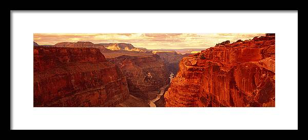 Photography Framed Print featuring the photograph Toroweap Point, Grand Canyon, Arizona by Panoramic Images
