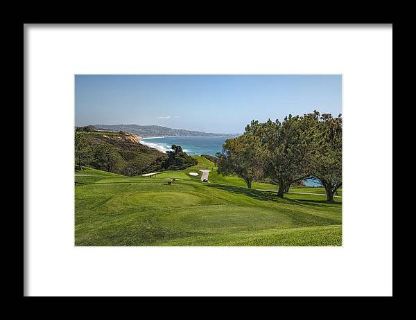 3scape Framed Print featuring the photograph Torrey Pines Golf Course North 6th Hole by Adam Romanowicz