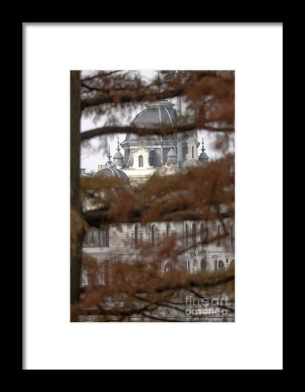 Budapest Framed Print featuring the photograph Tower by Odon Czintos