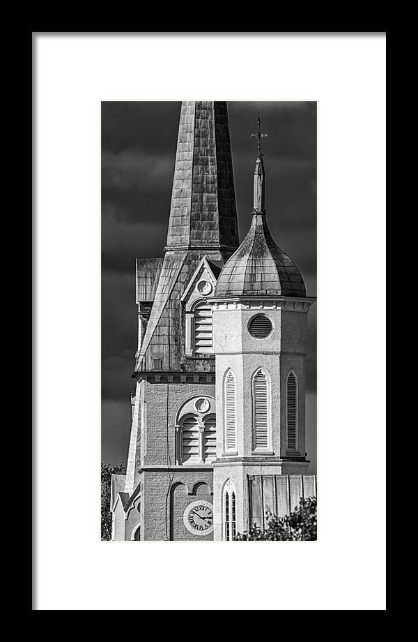 Fredericksburg Framed Print featuring the photograph Towers by Christopher Rok