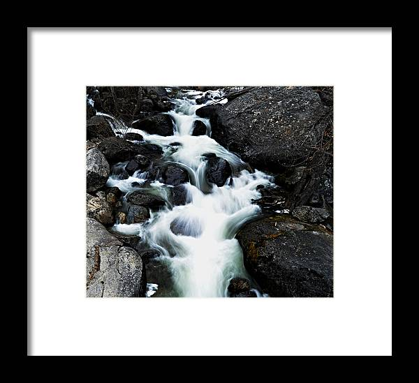 Trail Framed Print featuring the photograph Trailhead Cascades by See My Photos