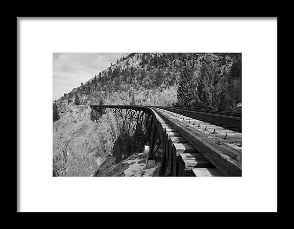 Train Trestle Framed Prints Framed Print featuring the photograph Train Trestle 1 by Kevin Bone