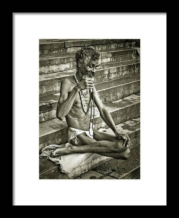 Sadu Framed Print featuring the photograph Trance by Kabir Ghafari
