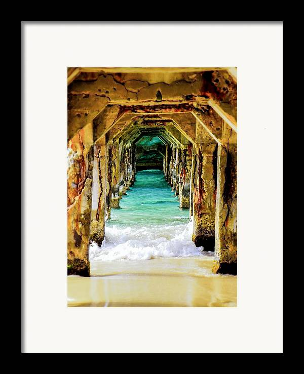 Waterscapes Framed Print featuring the photograph Tranquility Below by Karen Wiles