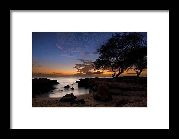 Tranquility Framed Print featuring the photograph Tranquility by Tin Lung Chao