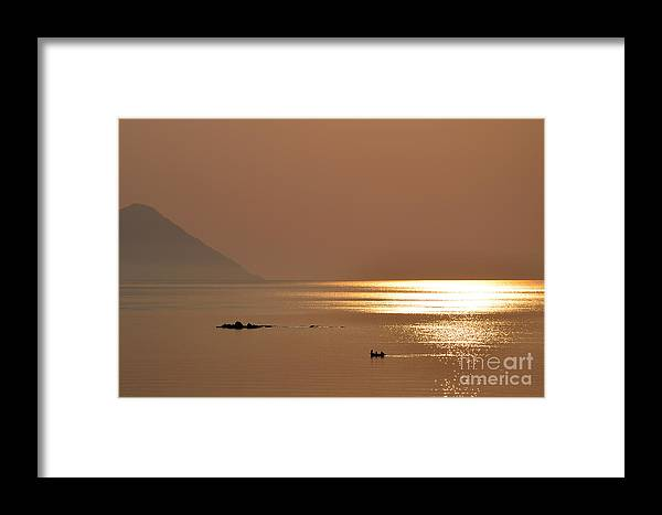Sunrise Framed Print featuring the photograph Tranquillity by Dragos Samoilescu