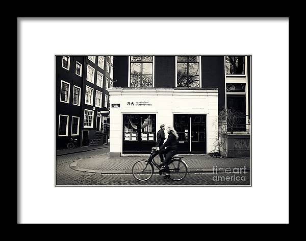Amsterdam Framed Print featuring the photograph Transit by Eric Wiles