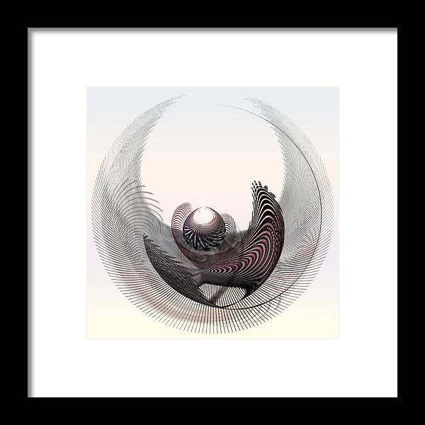 Prey Framed Print featuring the digital art Trophy V by Diuno Ashlee