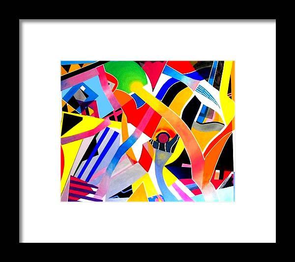 Bird Framed Print featuring the painting Tropical Bird by Barron Holland