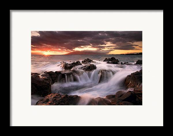 Hawaii Framed Print featuring the photograph Tropical Cauldron by Mike Dawson