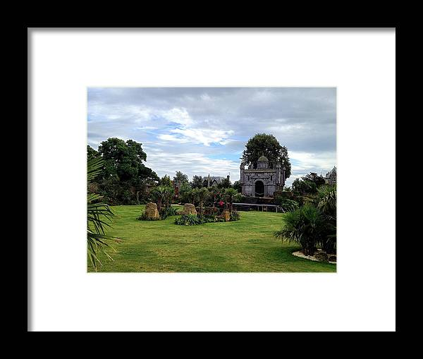 Photograph Framed Print featuring the photograph Tropical Garden by Nicole Parks