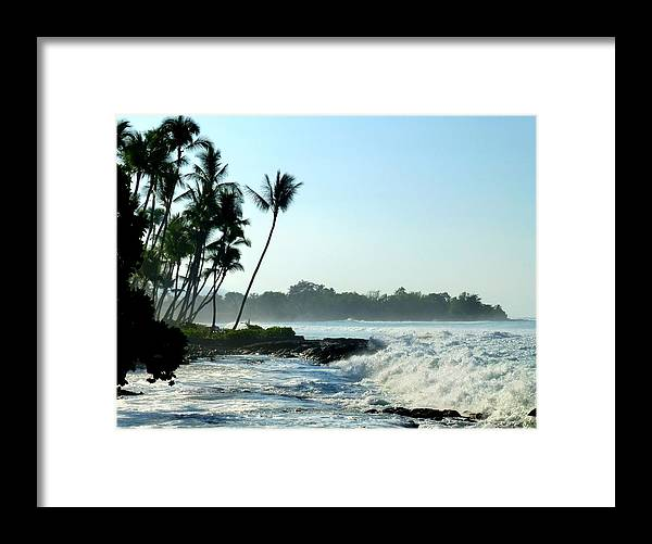 Shore Framed Print featuring the photograph Tropical Shore by Lori Seaman