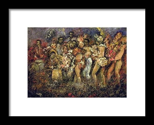 Tropicana Framed Print featuring the painting Tropicana Havana by Tomas Castano