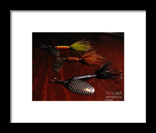 Patzer Framed Print featuring the photograph Trout Temptation by Greg Patzer