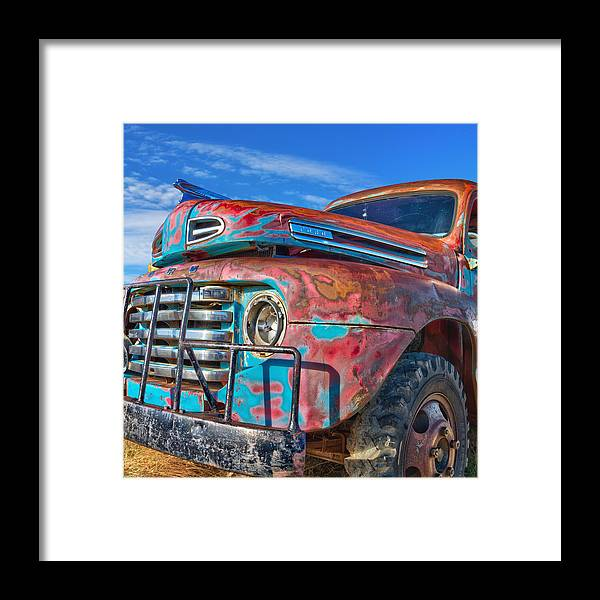 Ford Framed Print featuring the photograph Heavy Duty by Daniel George