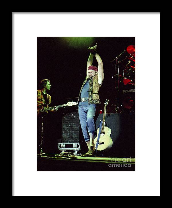 Jethro Tull Framed Print featuring the photograph Tull-ian-gp28 by Timothy Bischoff