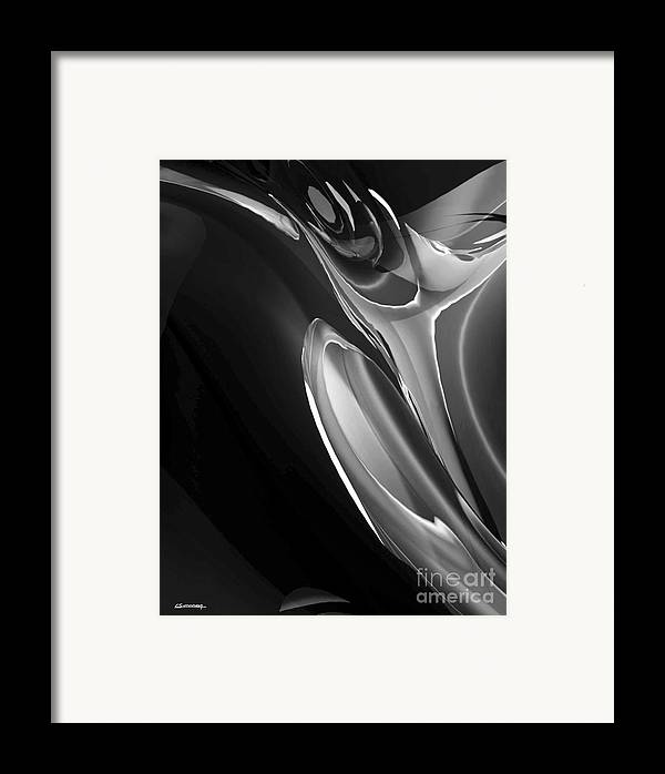 Jazz Framed Print featuring the painting Tumpet Jazz Sound by Christian Simonian