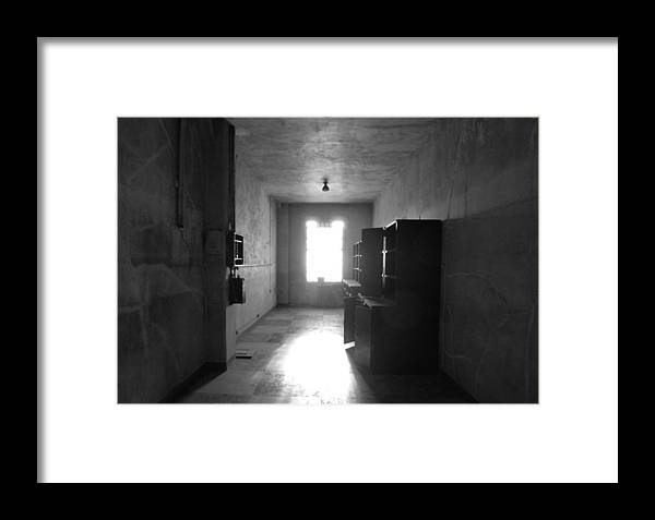 Photography Framed Print featuring the photograph Tunnel Vision by Fabien White