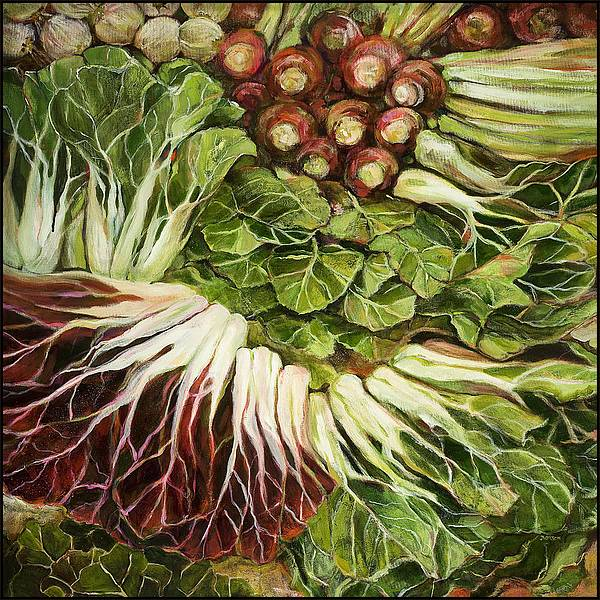 Turnip and Chard Concerto by Jen Norton