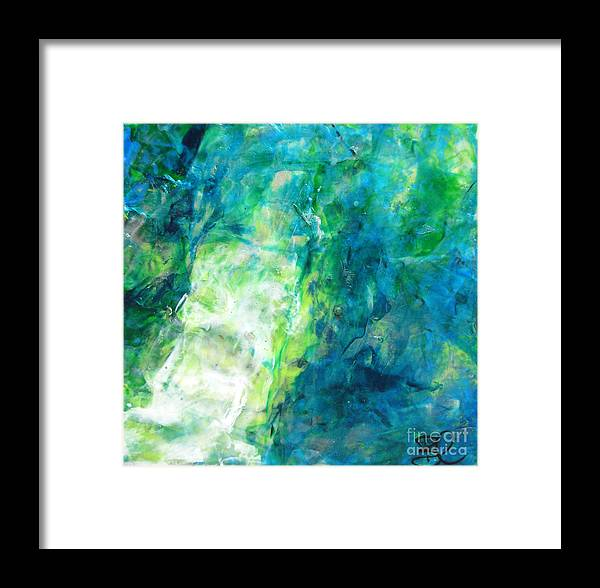Turquoise Modern Abstract Wall Art Contemporary Style Square ...