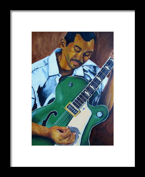 Male Framed Print featuring the painting Tuskegee Blues by William Bryant
