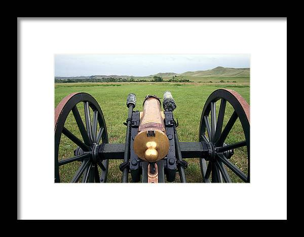 Howitzer Framed Print featuring the photograph Twelve Pounder by Keith R Crowley
