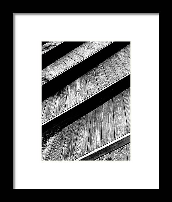 Stairs Framed Print featuring the photograph Twisted View by Shawna Rowe