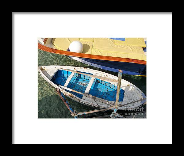 Mike Ste. Marie Framed Print featuring the photograph Two Boats by Mike Ste Marie