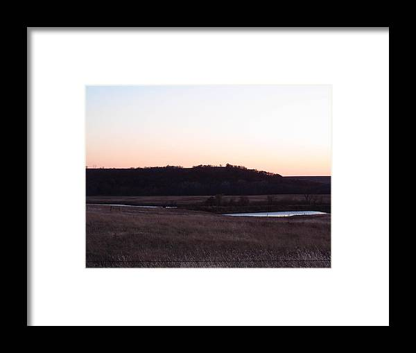 Landscapes Framed Print featuring the photograph Two Ponds by Aaron Moore