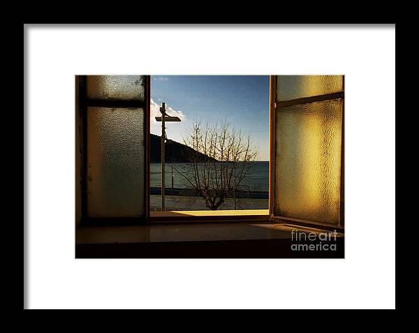 Window Framed Print featuring the photograph Window by Candido Salghero