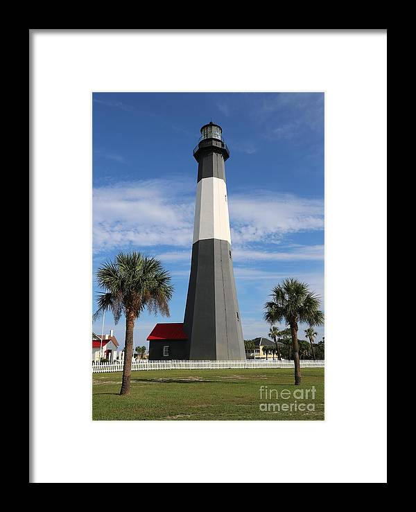Georgia Framed Print featuring the photograph Tybee Island Lighthouse by Carol Groenen