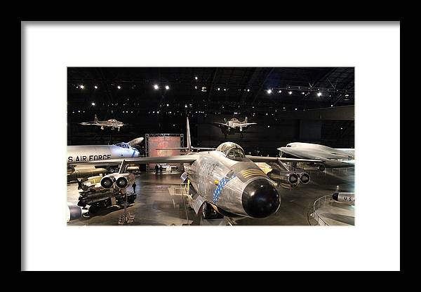 U S Air Force Museum Framed Print featuring the photograph U S Air Force Museum by Greg Short