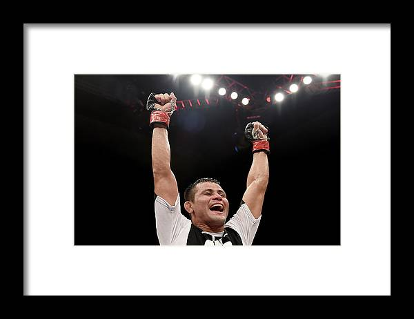 Martial Arts Framed Print featuring the photograph Ufc Fight Night Formiga V Reis by Buda Mendes/zuffa Llc
