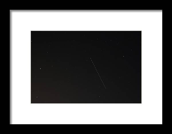 Airplane Framed Print featuring the photograph UFO by David S Reynolds