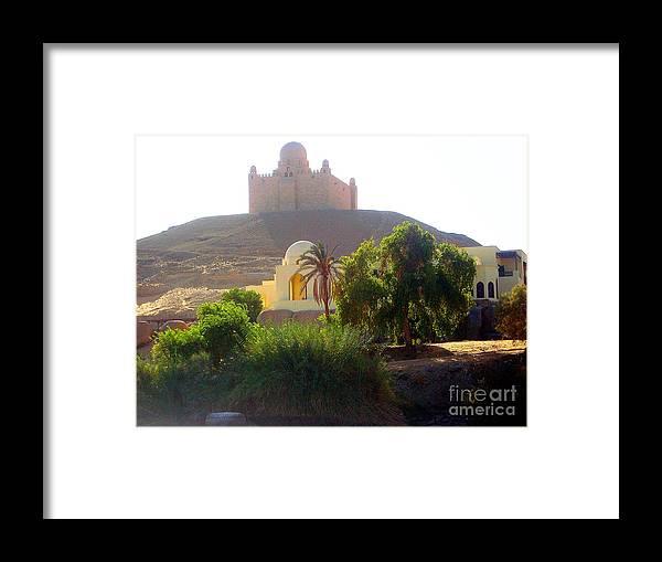 Deserto Framed Print featuring the photograph Una Moschea Nel Deserto by Adriana Otetea