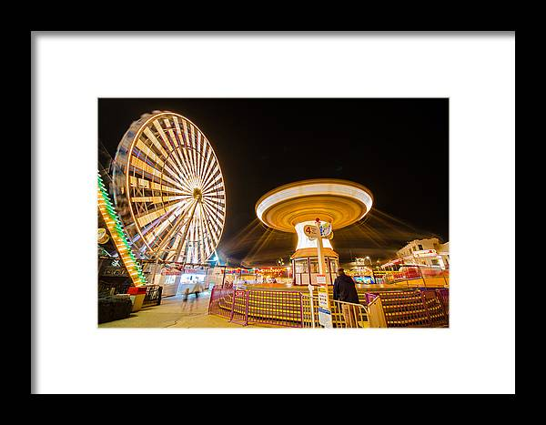 Rides Framed Print featuring the photograph Under His Watchful Eye by Kevin Jarrett