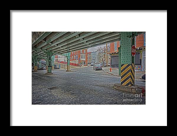 Manayunk Framed Print featuring the photograph Under The El Manayunk by Jack Paolini