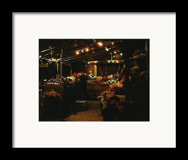 Photograph Framed Print featuring the photograph Under The Lights by Brian Nogueira