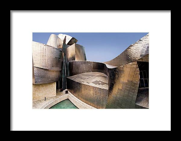 Architecture Framed Print featuring the photograph Undulation by Linda Wride