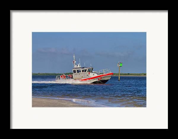 Coast Framed Print featuring the photograph United States Coast Guard by Kim Hojnacki