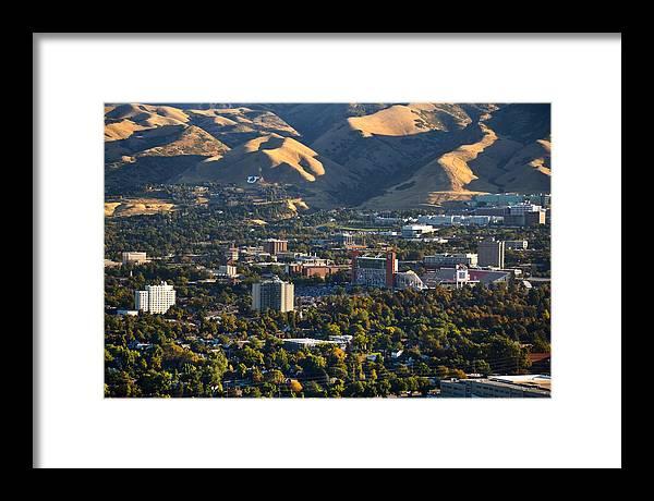 University of Utah Campus by Douglas Pulsipher