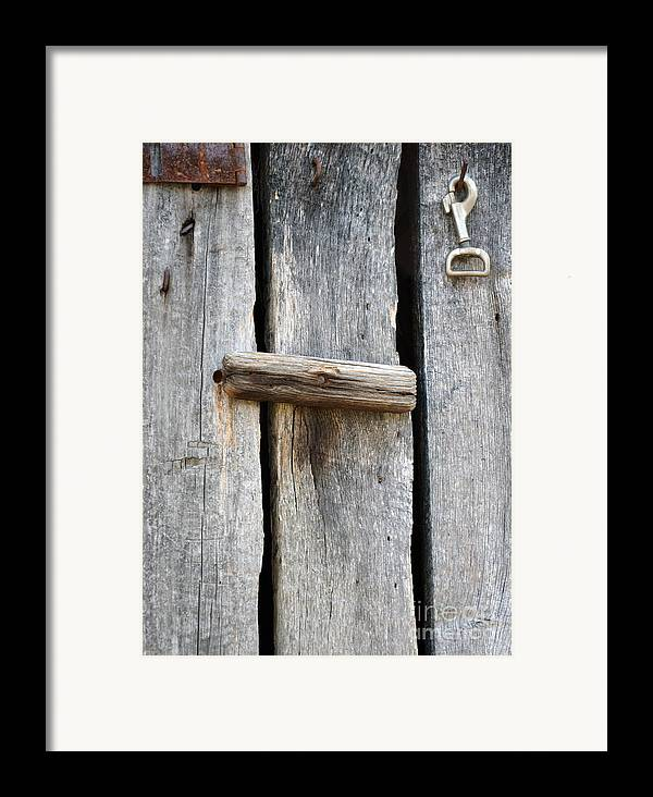 Natural Bridge Station Framed Print featuring the photograph Unlock The Past by Brenda Dorman