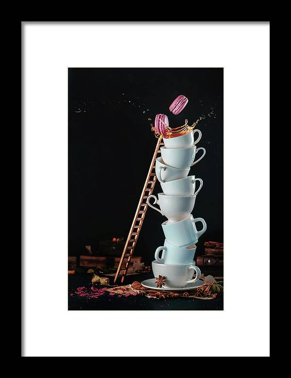 Tea Framed Print featuring the photograph Unreachable Sweets by Dina Belenko