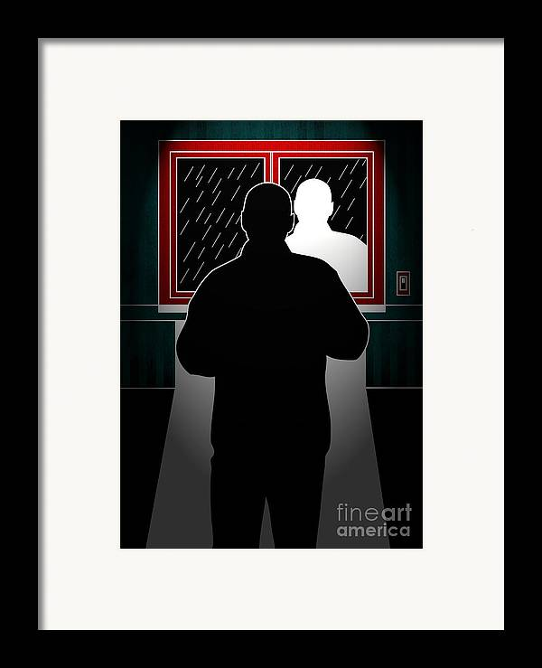 Artwork Framed Print featuring the digital art Untitled No.10 by Caio Caldas