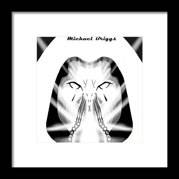 Untitled Framed Print featuring the digital art Untitled by Michael Briggs