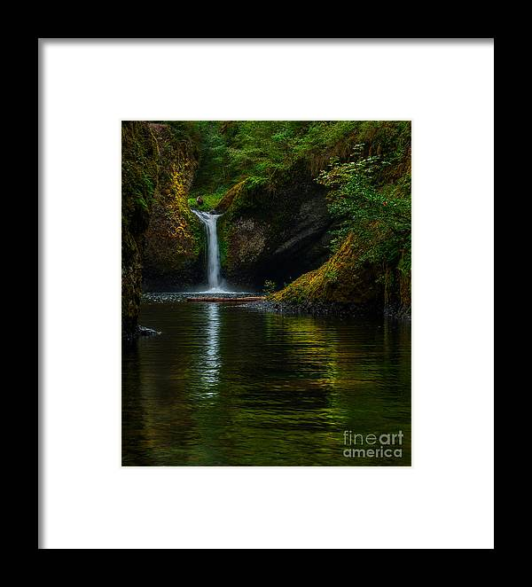 Oregon Framed Print featuring the photograph Upper Punchbow by Kenneth Eis