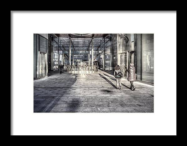 Desaturated Framed Print featuring the photograph Urban #1 by Roberto Pagani