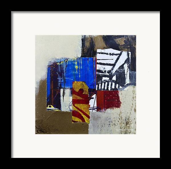 Collage Framed Print featuring the mixed media Urban Fall by Elena Nosyreva