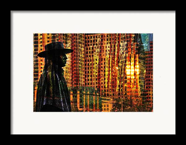 Urban Guru Framed Print featuring the photograph Urban Guru by Skip Hunt